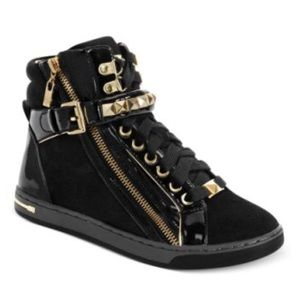 MIchael Kors glam studded high top sneakers 6